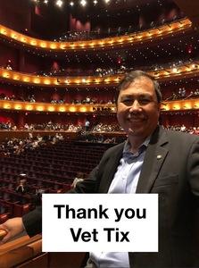 Joshua attended Puccini's LA Boheme - Dress Rehearsal Performance - Presented by Opera San Antonio on May 15th 2018 via VetTix
