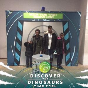 Angela G. Reed attended Discover the Dinosaurs - Time Trek - Presented by Vstar Entertainment on Mar 23rd 2018 via VetTix
