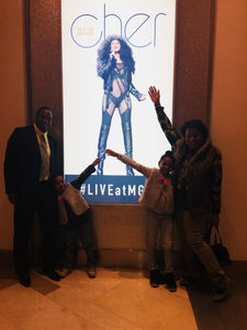 Koolmint_2000 attended Cher Live at the MGM National Harbor Theater on Feb 22nd 2018 via VetTix