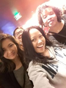 LT Pia Francisco, MSC, USN attended Cher Live at the MGM National Harbor Theater on Feb 22nd 2018 via VetTix