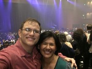 Wesley attended Cher Live at the MGM National Harbor Theater on Feb 22nd 2018 via VetTix