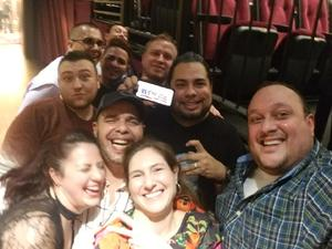 Pablo attended Cher Live at the MGM National Harbor Theater on Feb 22nd 2018 via VetTix