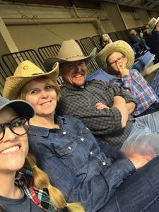 Michael attended The 65th Annual Parada Del Sol Rodeo - Bull Riding Only on This Night on Mar 8th 2018 via VetTix