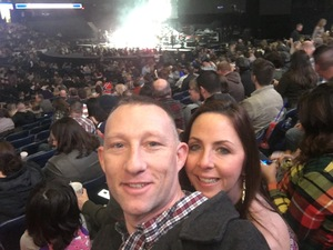 Mark attended Brad Paisley - Weekend Warrior World Tour With Dustin Lynch, Chase Bryant and Lindsay Ell on Feb 24th 2018 via VetTix