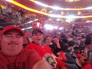 Andrew attended Florida Panthers vs. Washington Capitals - NHL on Feb 22nd 2018 via VetTix