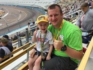 Cullen attended 2018 TicketGuardian 500 - Monster Energy NASCAR Cup Series on Mar 11th 2018 via VetTix