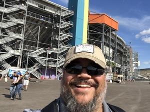 Steven attended 2018 TicketGuardian 500 - Monster Energy NASCAR Cup Series on Mar 11th 2018 via VetTix