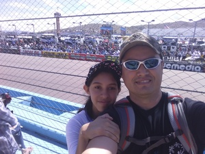 Rodolfo attended 2018 TicketGuardian 500 - Monster Energy NASCAR Cup Series on Mar 11th 2018 via VetTix