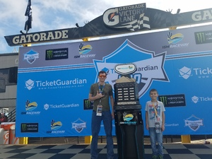 Michael attended 2018 TicketGuardian 500 - Monster Energy NASCAR Cup Series on Mar 11th 2018 via VetTix