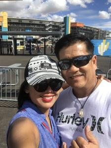 Stephen attended 2018 TicketGuardian 500 - Monster Energy NASCAR Cup Series on Mar 11th 2018 via VetTix