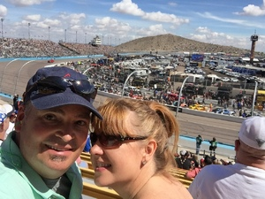 Mark attended 2018 TicketGuardian 500 - Monster Energy NASCAR Cup Series on Mar 11th 2018 via VetTix