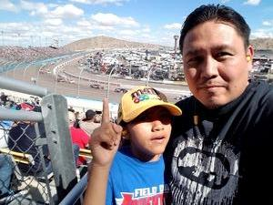 Jesse attended 2018 TicketGuardian 500 - Monster Energy NASCAR Cup Series on Mar 11th 2018 via VetTix