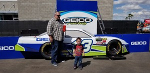 Brian attended 2018 TicketGuardian 500 - Monster Energy NASCAR Cup Series on Mar 11th 2018 via VetTix