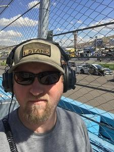 Marc attended 2018 TicketGuardian 500 - Monster Energy NASCAR Cup Series on Mar 11th 2018 via VetTix