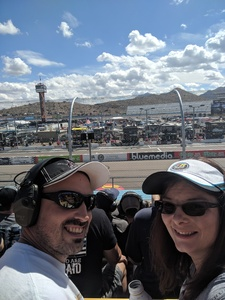 Crystal attended 2018 TicketGuardian 500 - Monster Energy NASCAR Cup Series on Mar 11th 2018 via VetTix