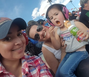 Dorsey attended 2018 TicketGuardian 500 - Monster Energy NASCAR Cup Series on Mar 11th 2018 via VetTix