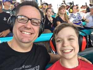 Christian attended 2018 TicketGuardian 500 - Monster Energy NASCAR Cup Series on Mar 11th 2018 via VetTix