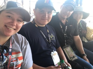Katherine attended 2018 TicketGuardian 500 - Monster Energy NASCAR Cup Series on Mar 11th 2018 via VetTix