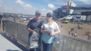 Ray attended 2018 TicketGuardian 500 - Monster Energy NASCAR Cup Series on Mar 11th 2018 via VetTix