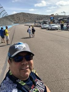 Scott attended 2018 TicketGuardian 500 - Monster Energy NASCAR Cup Series on Mar 11th 2018 via VetTix