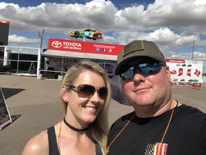 Steve attended 2018 TicketGuardian 500 - Monster Energy NASCAR Cup Series on Mar 11th 2018 via VetTix