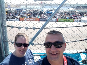 Christopher attended 2018 TicketGuardian 500 - Monster Energy NASCAR Cup Series on Mar 11th 2018 via VetTix