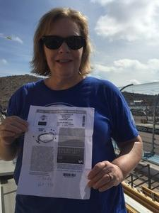 Darla attended 2018 TicketGuardian 500 - Monster Energy NASCAR Cup Series on Mar 11th 2018 via VetTix