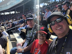 Lawrence attended 2018 TicketGuardian 500 - Monster Energy NASCAR Cup Series on Mar 11th 2018 via VetTix