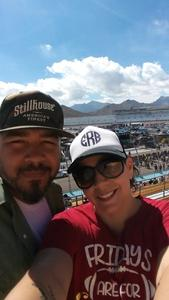 Ramon attended 2018 TicketGuardian 500 - Monster Energy NASCAR Cup Series on Mar 11th 2018 via VetTix