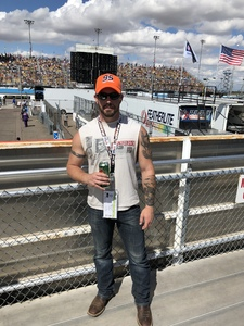 Tony attended 2018 TicketGuardian 500 - Monster Energy NASCAR Cup Series on Mar 11th 2018 via VetTix