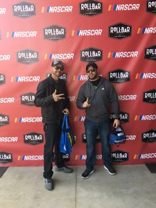 Fernando attended 2018 TicketGuardian 500 - Monster Energy NASCAR Cup Series on Mar 11th 2018 via VetTix