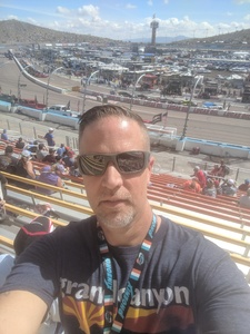 Austin attended 2018 TicketGuardian 500 - Monster Energy NASCAR Cup Series on Mar 11th 2018 via VetTix