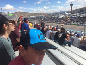 Darrin attended 2018 TicketGuardian 500 - Monster Energy NASCAR Cup Series on Mar 11th 2018 via VetTix