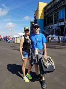 Jennifer attended 2018 TicketGuardian 500 - Monster Energy NASCAR Cup Series on Mar 11th 2018 via VetTix