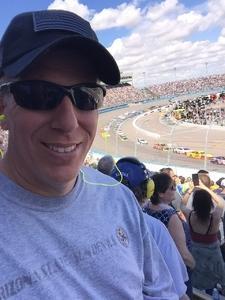 Jason attended 2018 TicketGuardian 500 - Monster Energy NASCAR Cup Series on Mar 11th 2018 via VetTix