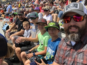 Chris attended 2018 TicketGuardian 500 - Monster Energy NASCAR Cup Series on Mar 11th 2018 via VetTix
