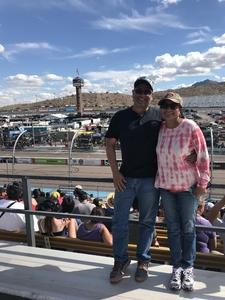 Alejandro attended 2018 TicketGuardian 500 - Monster Energy NASCAR Cup Series on Mar 11th 2018 via VetTix
