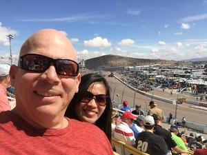 James attended 2018 TicketGuardian 500 - Monster Energy NASCAR Cup Series on Mar 11th 2018 via VetTix