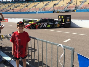 Castillofabfive attended 2018 TicketGuardian 500 - Monster Energy NASCAR Cup Series on Mar 11th 2018 via VetTix