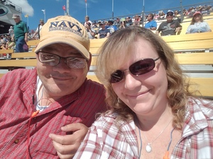 Mitchell attended 2018 TicketGuardian 500 - Monster Energy NASCAR Cup Series on Mar 11th 2018 via VetTix
