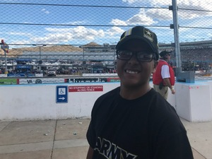 Mike attended 2018 TicketGuardian 500 - Monster Energy NASCAR Cup Series on Mar 11th 2018 via VetTix