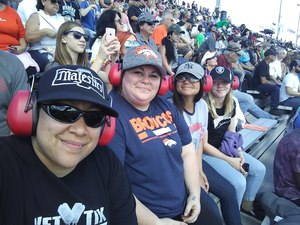 Christina attended 2018 TicketGuardian 500 - Monster Energy NASCAR Cup Series on Mar 11th 2018 via VetTix