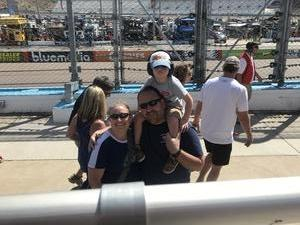 Andrew attended 2018 TicketGuardian 500 - Monster Energy NASCAR Cup Series on Mar 11th 2018 via VetTix