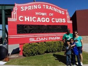 Jody attended Chicago Cubs vs. Chicago White Sox - MLB Spring Training on Feb 27th 2018 via VetTix