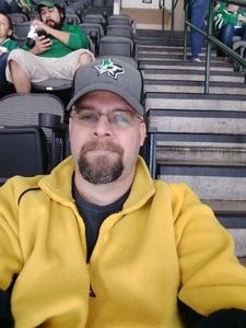 Marvin attended Dallas Stars vs. Tampa Bay Lightning - NHL on Mar 1st 2018 via VetTix