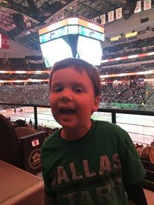Christopher attended Dallas Stars vs. Tampa Bay Lightning - NHL on Mar 1st 2018 via VetTix