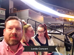 Steven attended Lorde: Melodrama World Tour on Mar 5th 2018 via VetTix