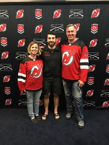April attended New Jersey Devils vs. Toronto Maple Leafs - NHL - 21 Squad Tickets With Player Meet & Greet! on Apr 5th 2018 via VetTix