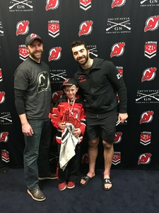 Jason attended New Jersey Devils vs. Toronto Maple Leafs - NHL - 21 Squad Tickets With Player Meet & Greet! on Apr 5th 2018 via VetTix