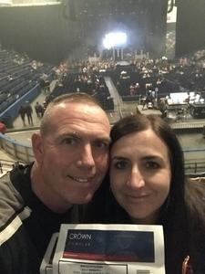 Frank attended Cole Swindell Special Guests: Chris Janson and Lauren Alaina (american Idol) on Mar 9th 2018 via VetTix